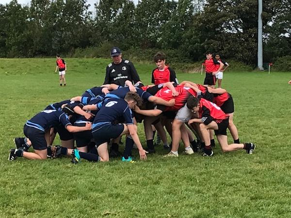 Junior Boy's Rugby Blitz Win