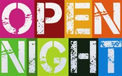Open Night 10th October 6-8 PM
