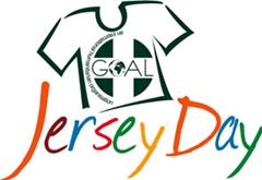 Friday 25th Jersey Day in Aid of GOAL