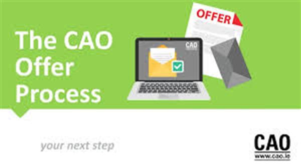 Guidance Dept. Links 26th May: 6th Year CAO 2020 Tips