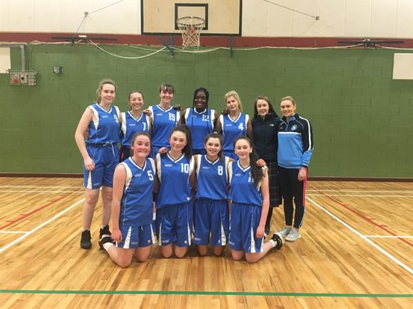 U19 Girls Basketball Win